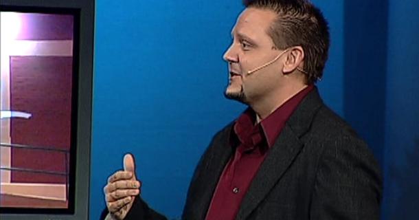 Alan Speaking